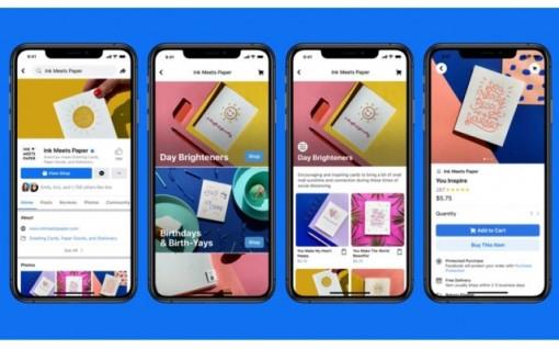 Facebook giới thiệu dịch vụ mua sắm trực tuyến mới