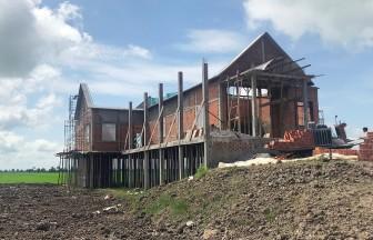 Kiên quyết xử lý theo quy định pháp luật biệt thự xây dựng trái phép ở Tân Lập
