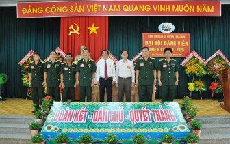 Đại hội đảng viên Đảng bộ Quân sự huyện Thoại Sơn nhiệm kỳ 2020-2025 thành công tốt đẹp