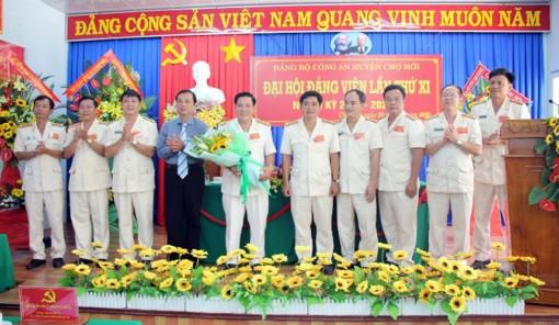 Trưởng Công an huyện Chợ Mới Lê Văn Đấu tái đắc cử Bí thư Đảng ủy Công an huyện nhiệm kỳ 2020-2025