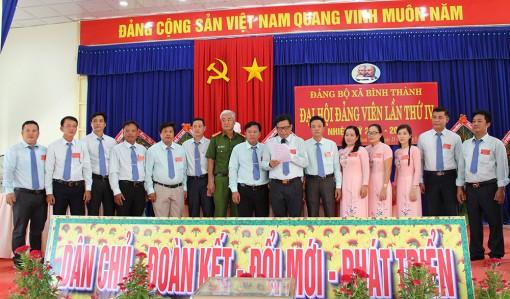 Đồng chí Khưu Tấn Hoàng giữ chức Bí thư Đảng ủy xã Bình Thành khóa IV (nhiệm kỳ 2020–2025)