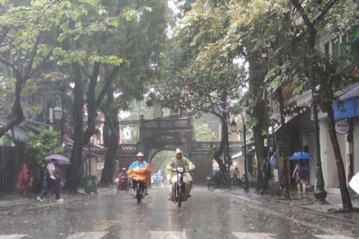 Dự báo thời tiết ngày 23-5-2020: Hà Nội mưa to, đề phòng ngập lụt