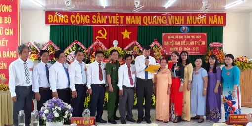 Đại hội đại biểu Đảng bộ TT. Phú Hòa lần thứ XII (nhiệm kỳ 2020- 2025) thành công tốt đẹp