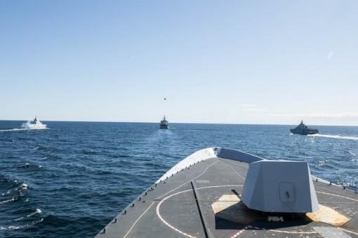 NATO tập trận hải quân chung với Thụy Điển tại Biển Baltic