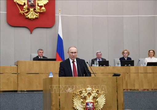 Tổng thống Nga ký luật sửa đổi cho phép bỏ phiếu bầu cử qua bưu điện
