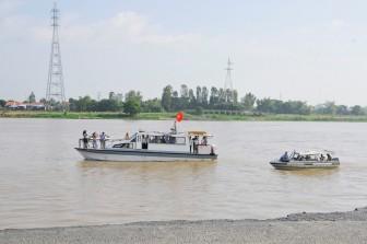An Giang xin chủ trương xã hội hóa chỉnh trị dòng chảy sông Hậu bảo vệ QL.91