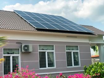 Sử dụng điện mặt trời mái nhà - Lợi ích cho gia đình và cộng đồng