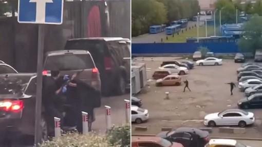 Đấu súng giữa ban ngày ở thủ đô của Nga