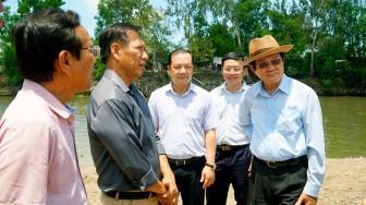 Khảo sát xây cầu nông thôn tại huyện Tịnh Biên