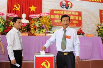 Đại hội Đảng bộ xã Tân Thạnh thành công tốt đẹp