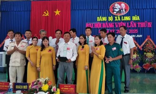 Đại hội đảng viên xã Long Hòa lần thứ IV