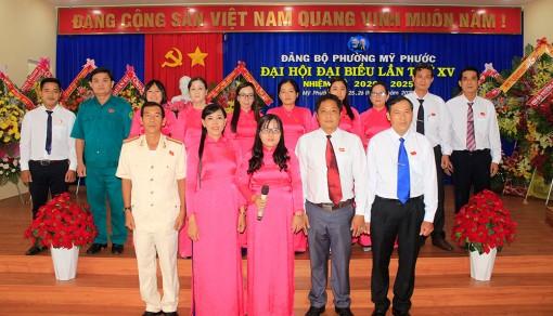 Đại hội Đảng bộ phường Mỹ Phước lần thứ XV (nhiệm kỳ 2020-2025) thành công tốt đẹp