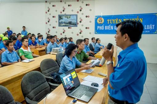 LĐLĐ tỉnh An Giang phổ biến pháp luật cho đoàn viên, người lao động Xí nghiệp Bình Đức