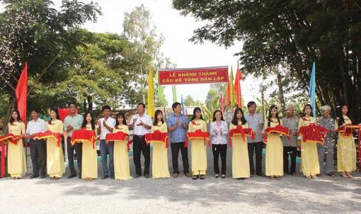 Đảng bộ xã Long Điền B đột phá trong một nhiệm kỳ