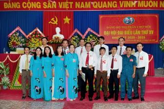 Đồng chí Trần Hồng Bon tái đắc cử Bí thư Đảng ủy thị trấn Chợ Mới