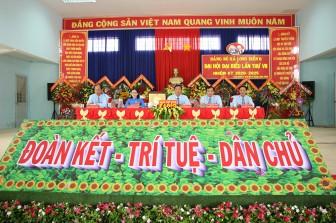 Đồng chí Phan Thành Lý tái đắc cử Bí thư Đảng ủy xã Long Điền B