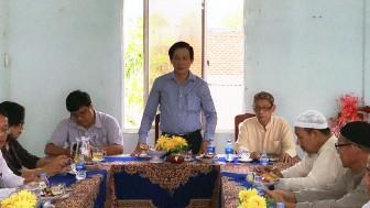 Ban Tôn giáo Chính phủ thăm, làm việc Ban Đại diện Cộng đồng Hồi giáo tỉnh An Giang