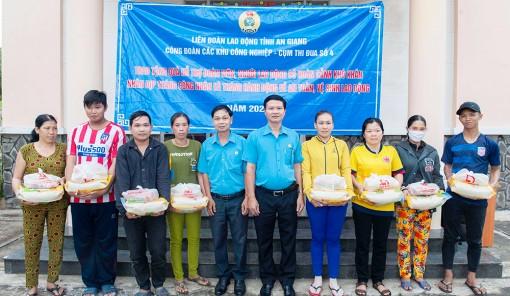 Liên đoàn Lao động tỉnh: Thăm, tặng quà đoàn viên, người lao động