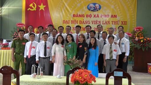 Phú An tổ chức thành công Đại hội đảng viên lần thứ XII (nhiệm kỳ 2020-2025)