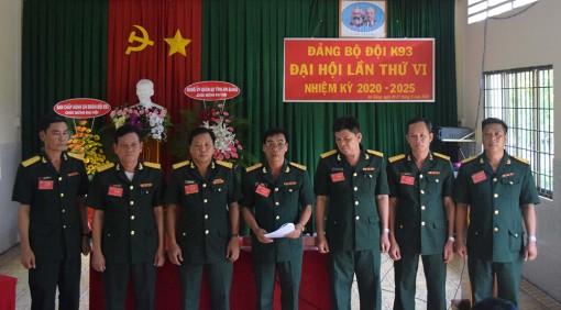 Đại hội Đảng bộ K93 nhiệm kỳ 2020-2025