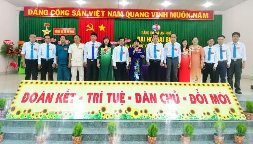 Đại hội Đảng bộ xã An Phú nhiệm kỳ 2020-2025 thành công tốt đẹp