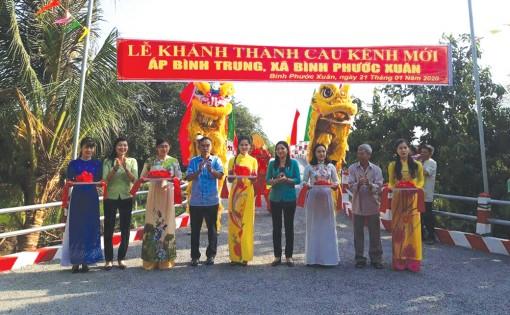 Chào mừng Đại hội đại biểu Đảng bộ xã Bình Phước Xuân, nhiệm kỳ 2020-2025: Chuyển dịch cây trồng hiệu quả kinh tế cao
