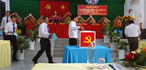 Đồng chí Nguyễn Văn Cư tái đắc cử Bí thư Đảng ủy xã Mỹ An