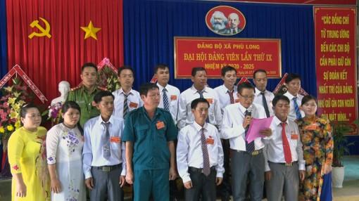 Đại hội đảng viên xã Phú Long lần thứ IX, nhiệm kỳ 2020 - 2025