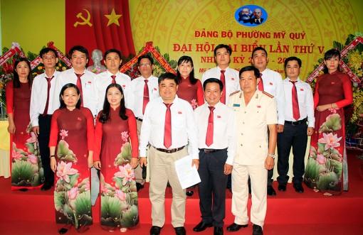 Đại hội Đảng bộ phường Mỹ Quý lần thứ V (nhiệm kỳ 2020-2025) thành công tốt đẹp
