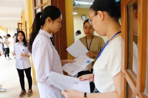 Thí sinh đăng ký thi THPT từ ngày 15- 30-6, công bố điểm trúng truyển trước 27-9