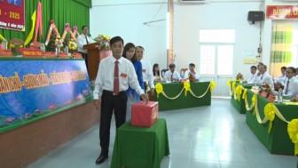 Đồng chí Nguyễn Văn Bình tái đắc cử Bí thư Đảng ủy xã Phú Lâm (nhiệm kỳ 2020-2025)