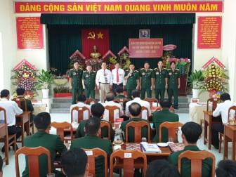 Đại hội Đảng bộ Quân sự huyện An Phú lần thứ IX (nhiệm kỳ 2020-2025) thành công tốt đẹp