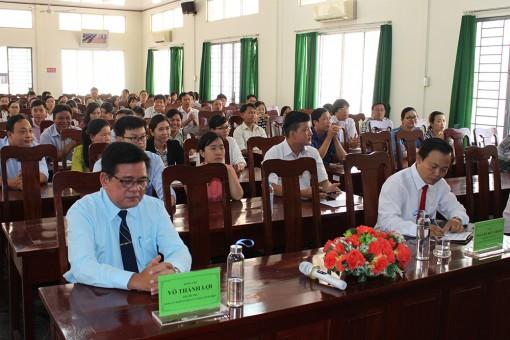 Khai giảng lớp Trung cấp Lý luận chính trị - Hành chính B143, niên khóa 2020