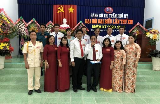 Đảng bộ TT.Phú Mỹ tổ chức Đại hội đại biểu lần thứ XIII