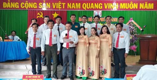 Đại hội đảng viên xã Phú Thành nhiệm kỳ 2020-2025