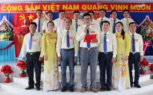 Đồng chí Mai Thành Ngoan tái đắc cử Bí thư Đảng ủy xã Vĩnh An khóa XVII (nhiệm kỳ 2020-2025)
