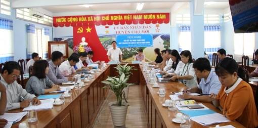 Văn phòng HĐND - UBND huyện Chợ Mới góp phần tích cực phát triển kinh tế - xã hội