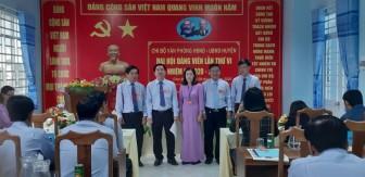 Đồng chí Nguyễn Hồng Viễn tái đắc cử Bí thư Chi bộ Văn phòng HĐND-UBND huyện Chợ Mới