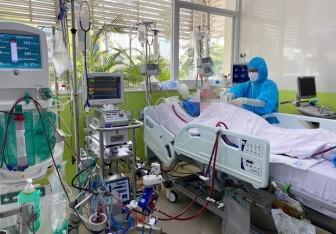 Bệnh nhân 91 đã có dấu hiệu khá hơn, từng bước cai ECMO