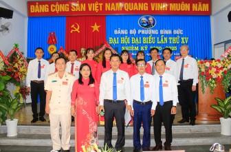 Đồng chí Ngô Nhựt Thắng tái đắc cử Bí thư Đảng ủy phường Bình Đức khóa XV (nhiệm kỳ 2020-2025)