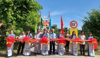 Hòa Bình Thạnh: Khánh thành cầu Điểm B