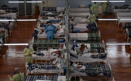 Brazil ghi nhận số ca mắc COVID-19 cao nhất trong ngày