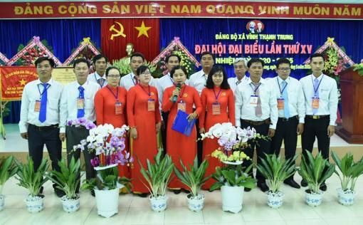 Vĩnh Thạnh Trung tổ chức thành công Đại hội đại biểu Đảng bộ xã (nhiệm kỳ 2020 - 2025)