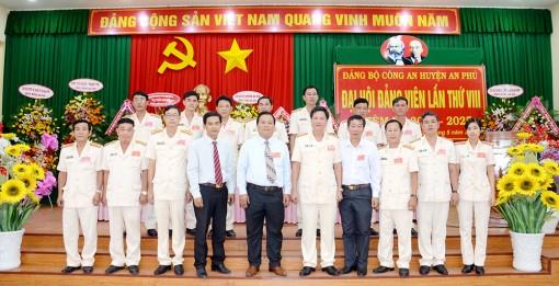 Thượng tá Lý Thanh Vũ tái đắc cử Bí thư Đảng ủy Công an huyện An Phú (nhiệm kỳ 2020-2025)