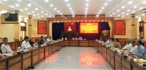 Ban Thường vụ Thành ủy Châu Đốc: Lấy ý kiến đóng góp dự thảo báo cáo chính trị của Ban Chấp hành Đảng bộ thành phố (khóa XI)
