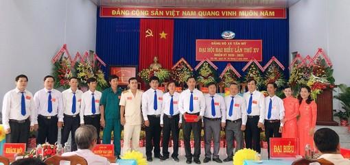 Đồng chí Trần Hữu Đức tái đắc cử Bí thư Đảng ủy xã Tấn Mỹ (nhiệm kỳ 2020-2025)