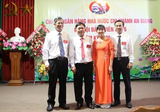 Đồng chí Nguyễn Tuấn Dũng tái đắc cử Bí thư Chi bộ Ngân hàng Nhà nước Việt Nam-Chi nhánh tỉnh An Giang