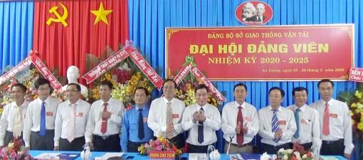 Đồng chí Nguyễn Phú Tân tái đắc cử Bí thư Đảng ủy Sở Giao thông-Vận tải An Giang