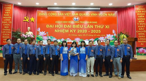 BS CKII Nguyễn Thị Hạnh tái đắc cử Bí thư Đảng ủy Bệnh viện Đa khoa trung tâm An Giang