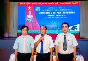 Đại hội Chi hội Nhạc sĩ Việt Nam tỉnh An Giang nhiệm kỳ 2020- 2025